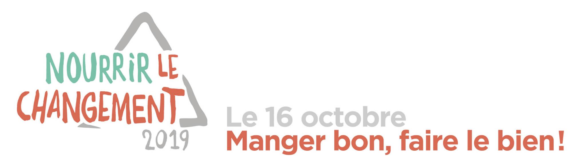 Le 16 octobre, manger bon, faire le bien!